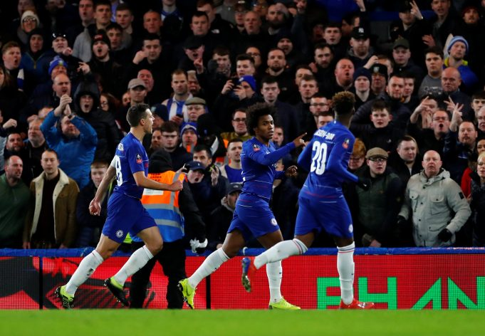 Chelsea winger says wantaway star will stay at the club