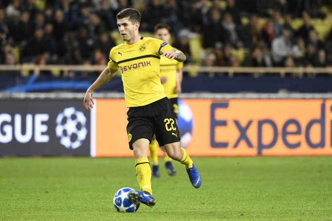 Christian Pulisic reacts to the £57.6 million that Chelsea paid for him