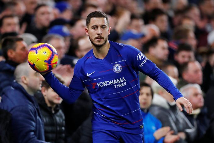 Hazard as a striker helps Chelsea defensively - Sarri