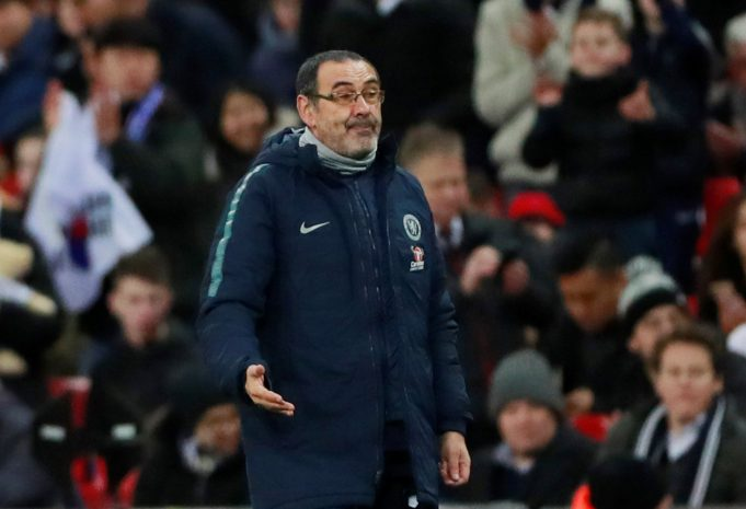 Maurizio Sarri Content With Chelsea's January Transfer Dealings
