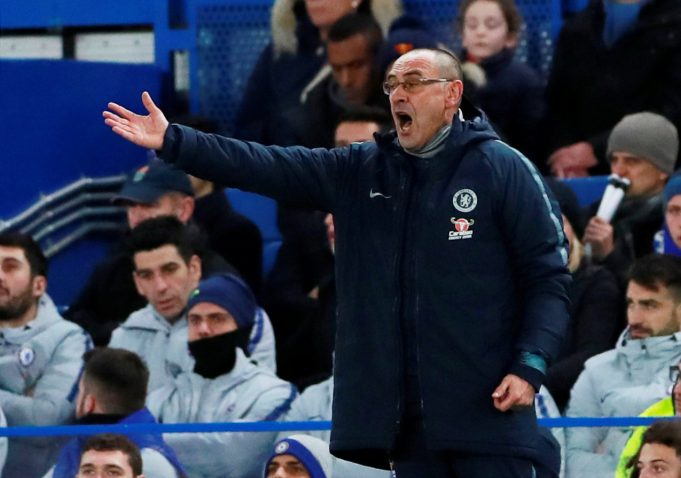 Maurizio Sarri says Chelsea are not ready to drop 4-3-3