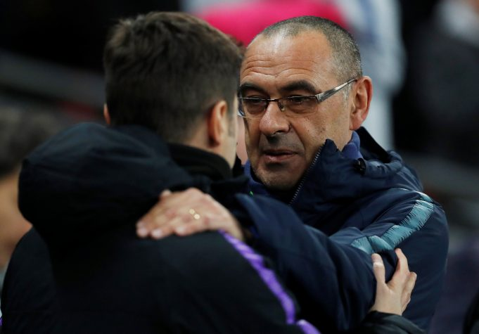 Sarri believes he and Pochettino need to win some trophies to silence the crtitics