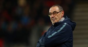 Sarri claims Chelsea stopped playing in the second half
