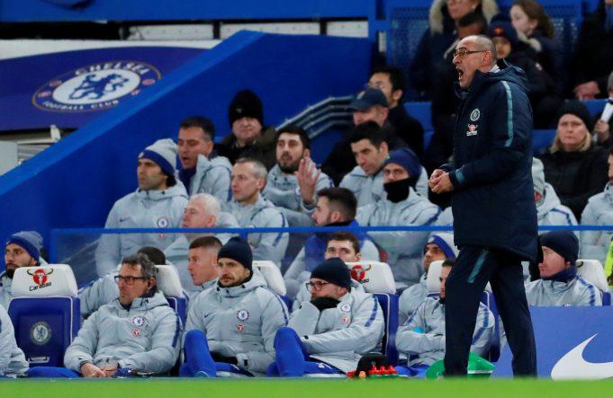 Sarri questions Chelsea motivation after Arsenal surrender