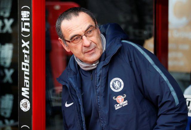 Sarri says Tottenham defeat destroyed Chelsea