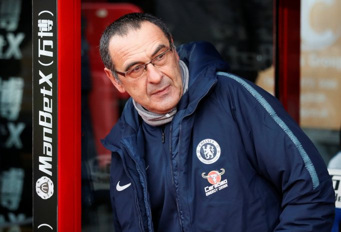 Sarri says Tottenham defeat destroyed Chelsea