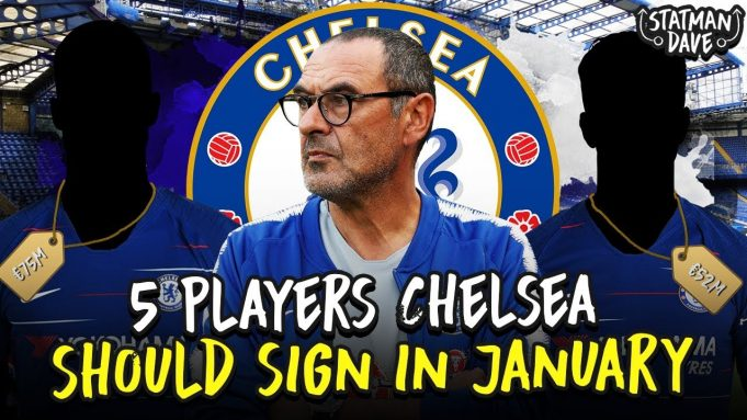 Top 5 players Chelsea could sign in January 2019