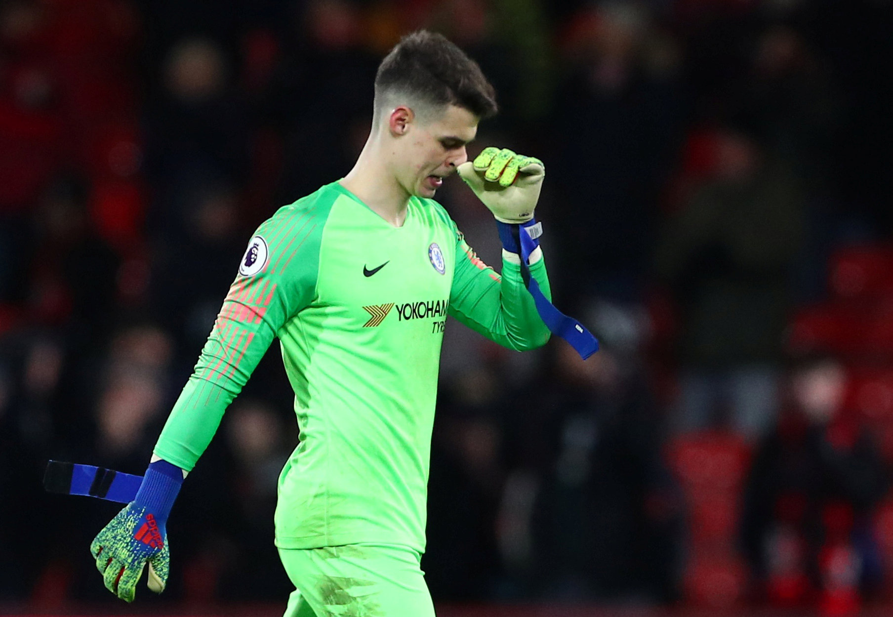 Chelsea FC first team goalkeeper 2019: Kepa Arrizabalaga