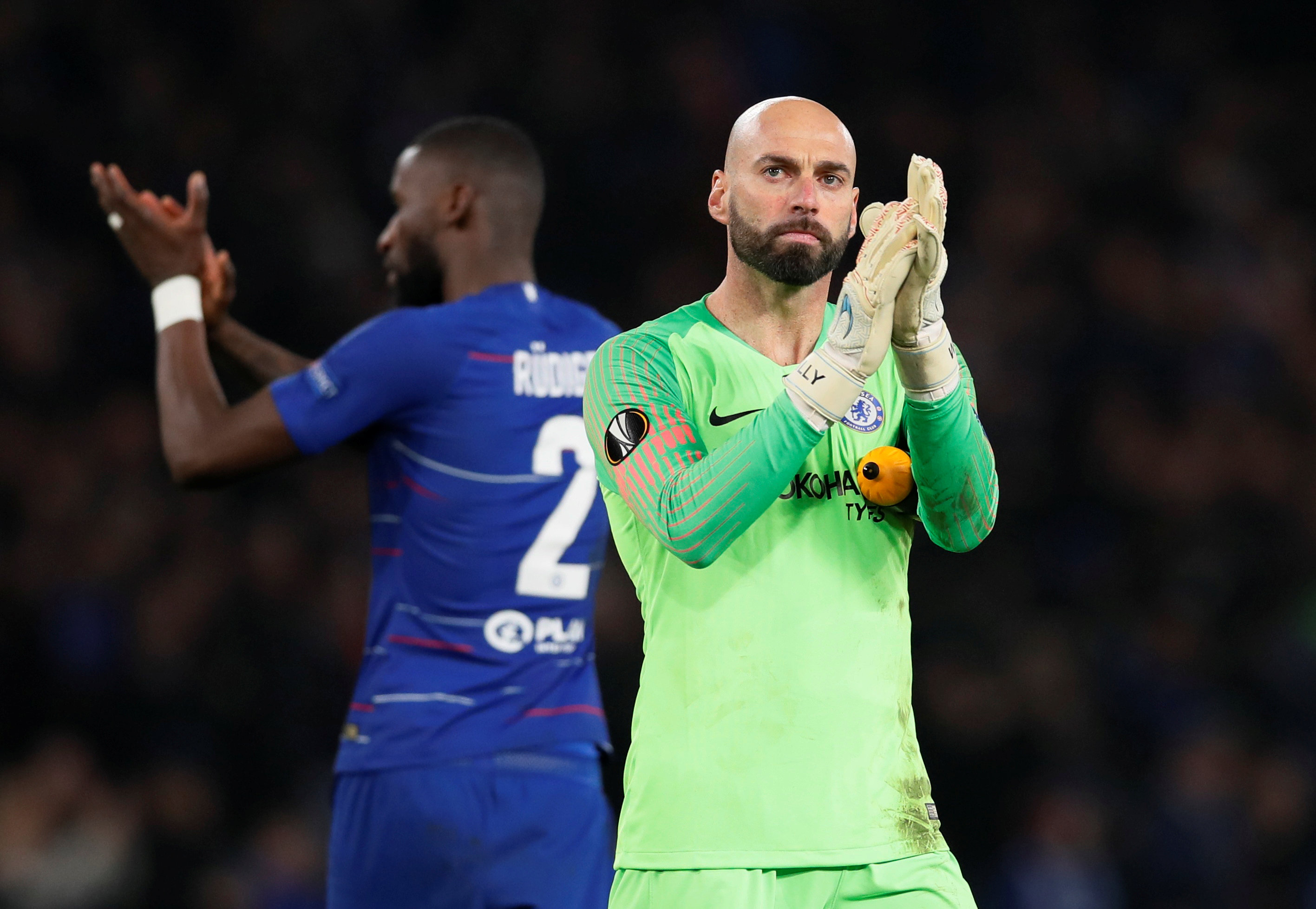 Chelsea FC first team goalkeeper 2019: Willy Caballero