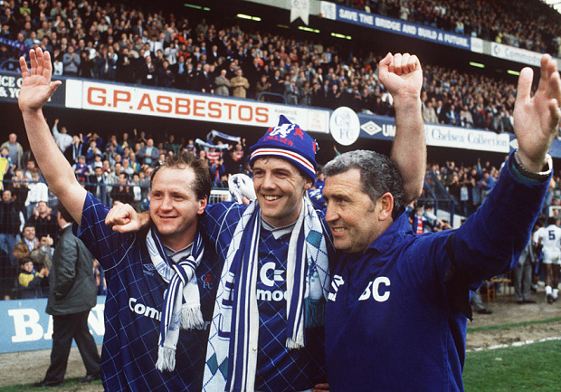 Chelsea FC managers since 1990 Bobby Campbell