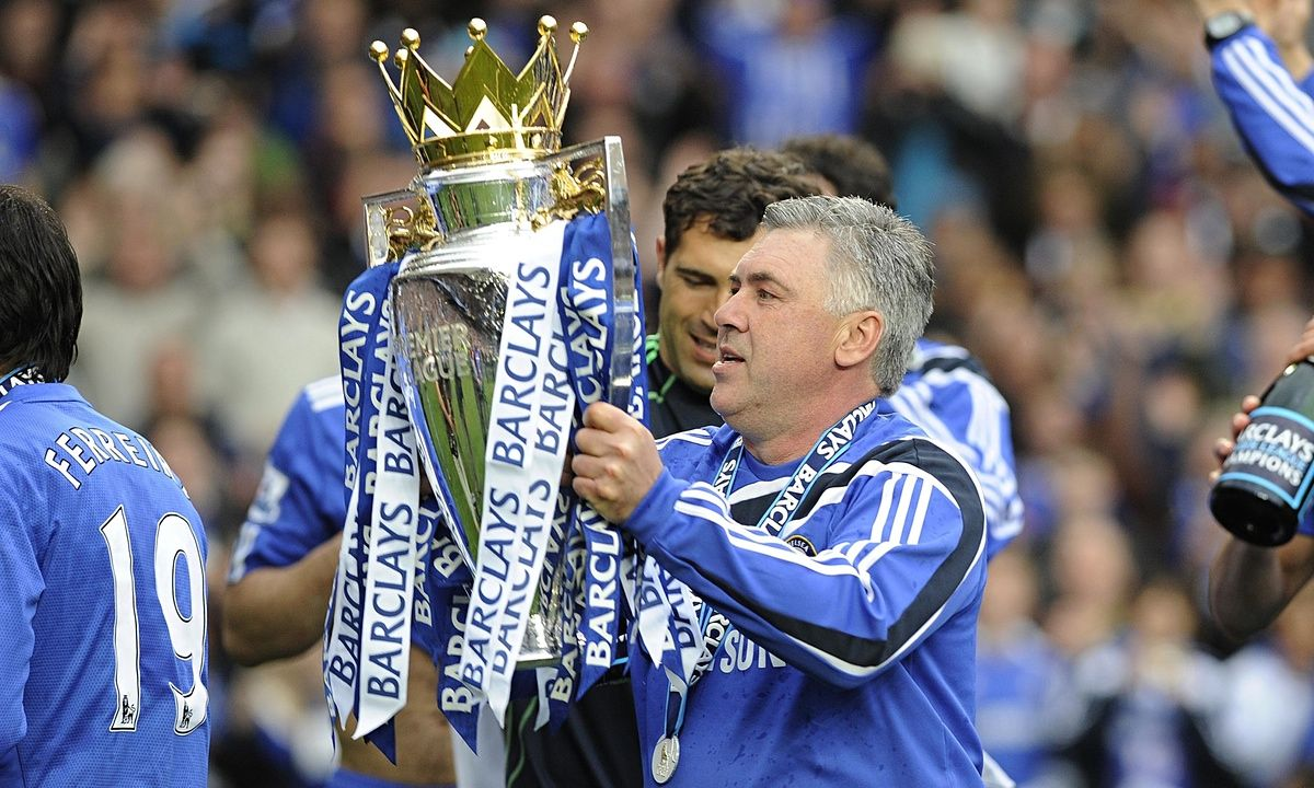 Chelsea FC managers since 2010 Carlo Ancelotti
