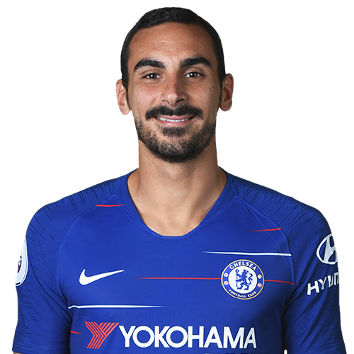 Chelsea FC players images Davide Zappacosta