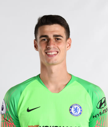 Chelsea FC players photos Kepa Arrizabalaga