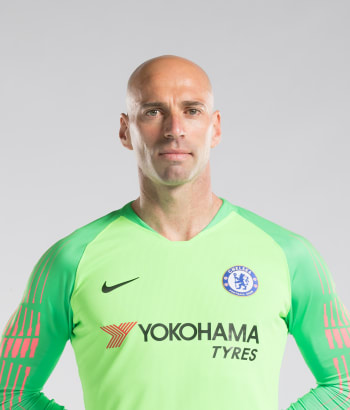 Chelsea FC players photos Willy Caballero