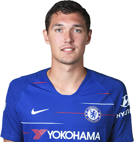 Chelsea FC players pictures Andreas Christensen
