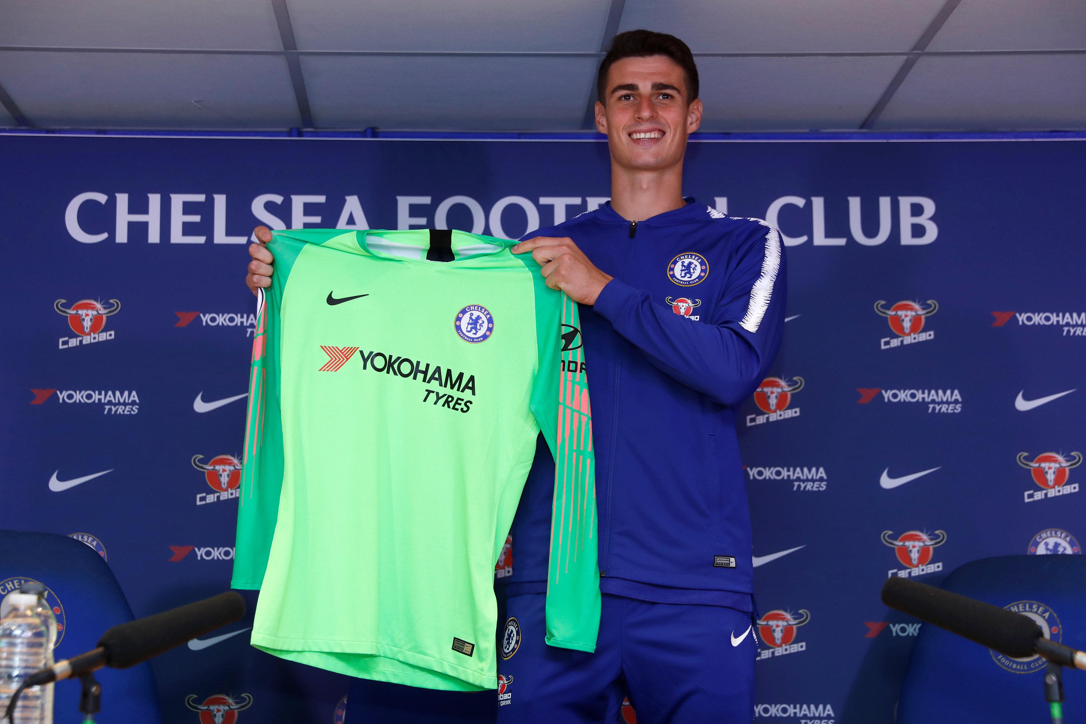 Chelsea signing Kepa