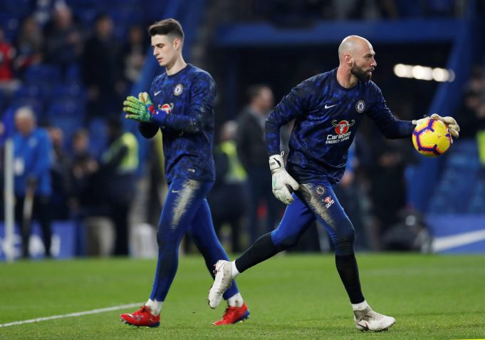 Cole wants Caballero in goal for match against Fulham