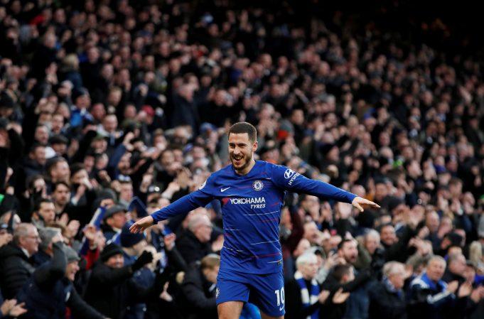 Eden Hazard believes Sarri will be happy with Chelsea's performance against Huddersfield