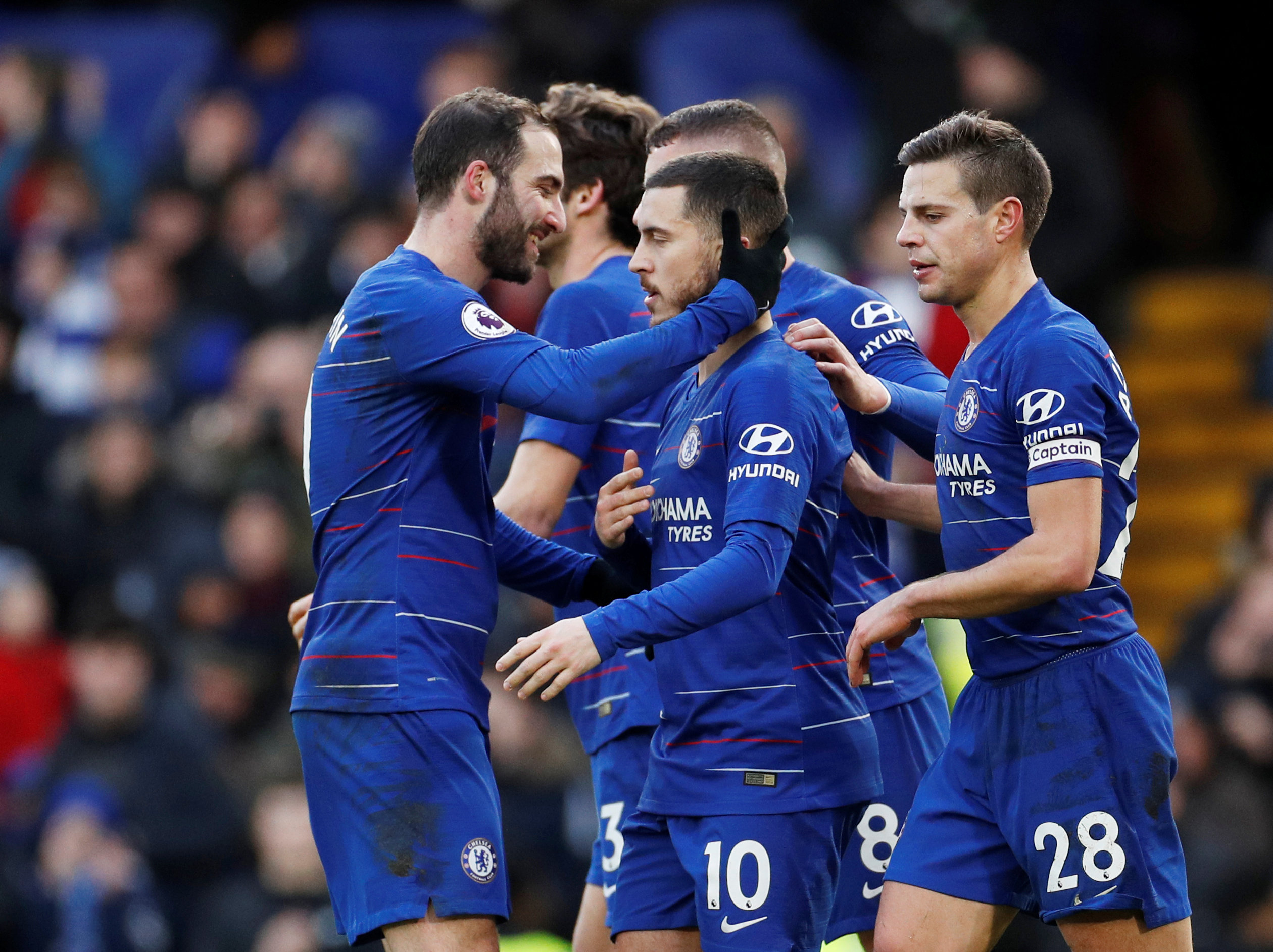 Hazard admits one thing Chelsea players are still doing under Sarri