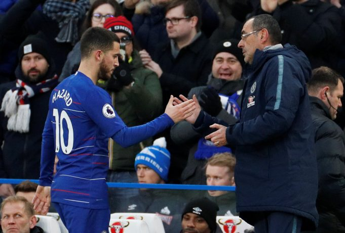 Hazard backs Higuain to succeed for Chelsea