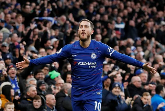 Hazard thinks Chelsea can beat anyone