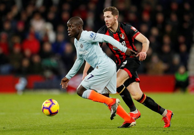 Kante happy with Sarri at Chelsea