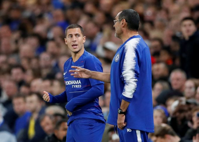 Maurizio Sarri Respects Eden Hazard's Decision To Stay Or Leave