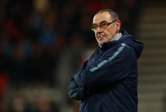 Sarri insists pressure was greater at Napoli as compared to Chelsea