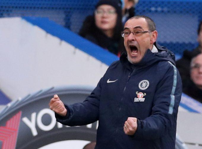 Sarri praises Higuain and Chelsea's overall performance against Huddersfield