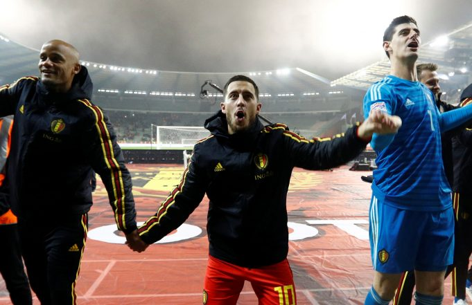 Thibaut Courtois Admits 'It Would Be Nice' To Have Hazard At Real Madrid
