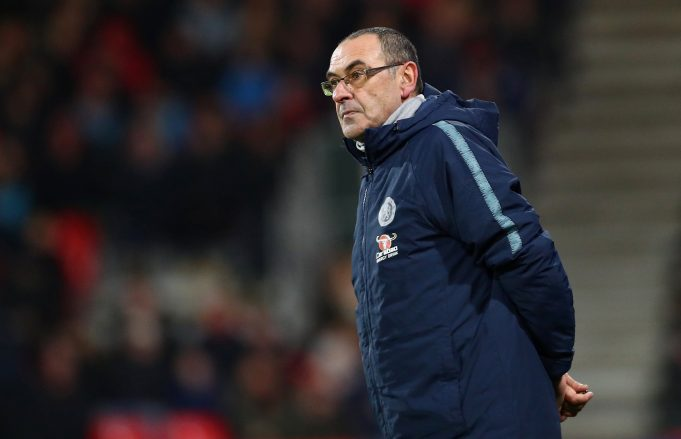 This is why Sarri does not trust his backroom staff
