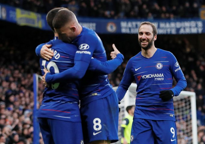 Two Games Were Enough To Convince Eden Hazard Of Higuain's 'Fantastic' Abilities