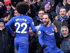 Willian praises Higuain and Chelsea