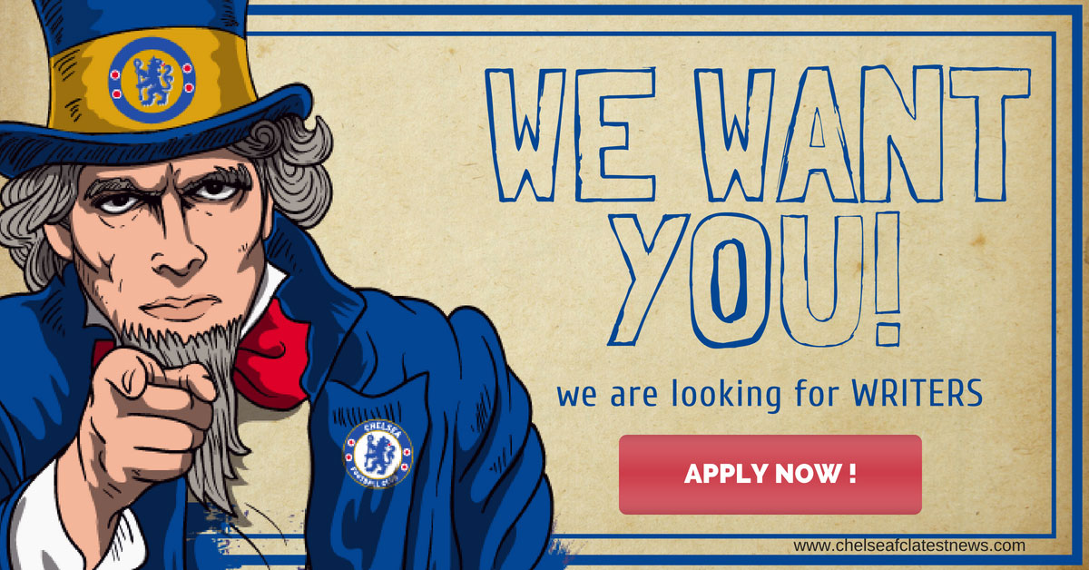 Write for Chelsea FC Latest News - Writer Application