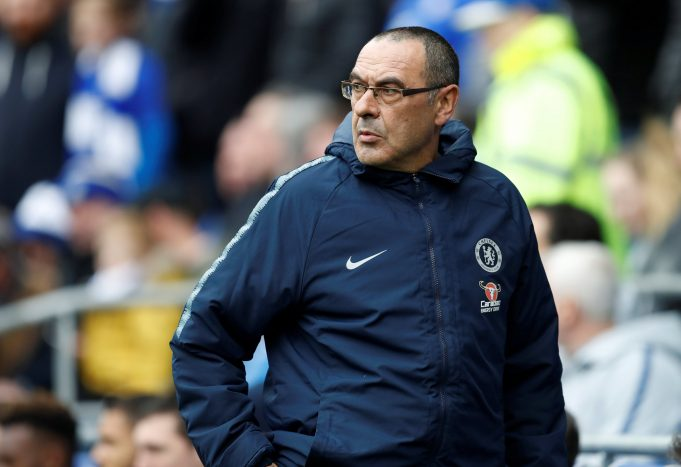Carragher blasts Sarri for comment on Chelsea starlet