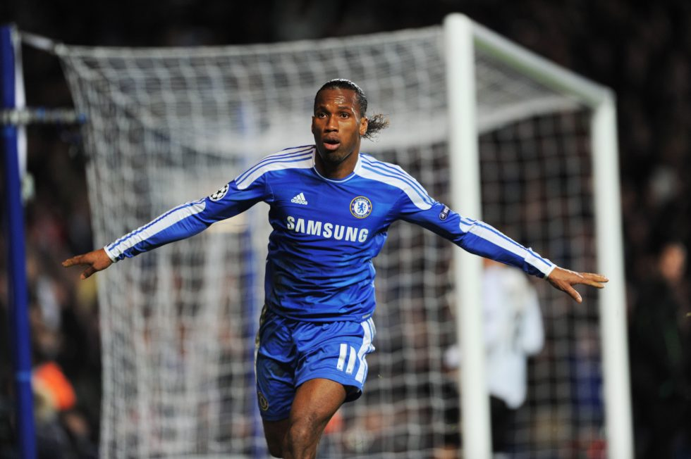 Chelsea FC Top 10 Goal Scorers Of All Time - Didier Drogba