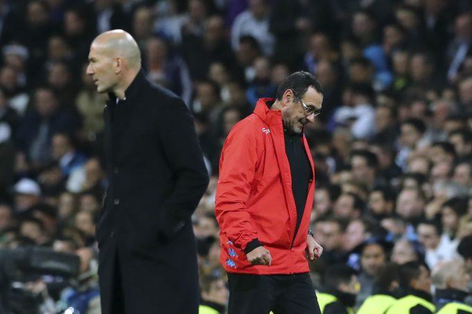 Former Arsenal Player Believes Chelsea Should Replace Maurizio Sarri With Zinedine Zidane