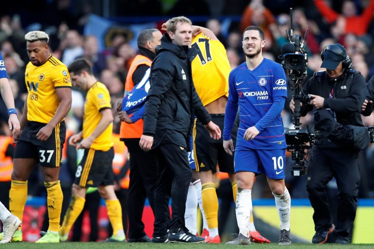 Hazard reveals reason behind Chelsea's draw to Wolves