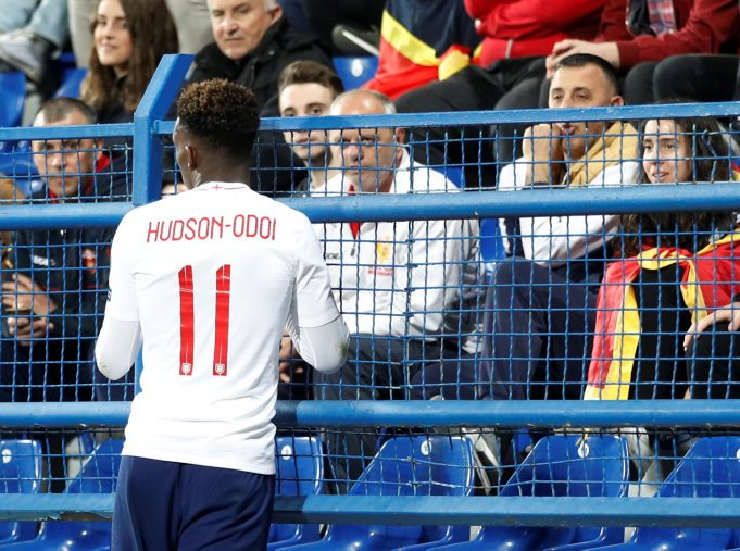 Hudson-Odoi's cryptic Instagram post leaves Chelsea fans guessing