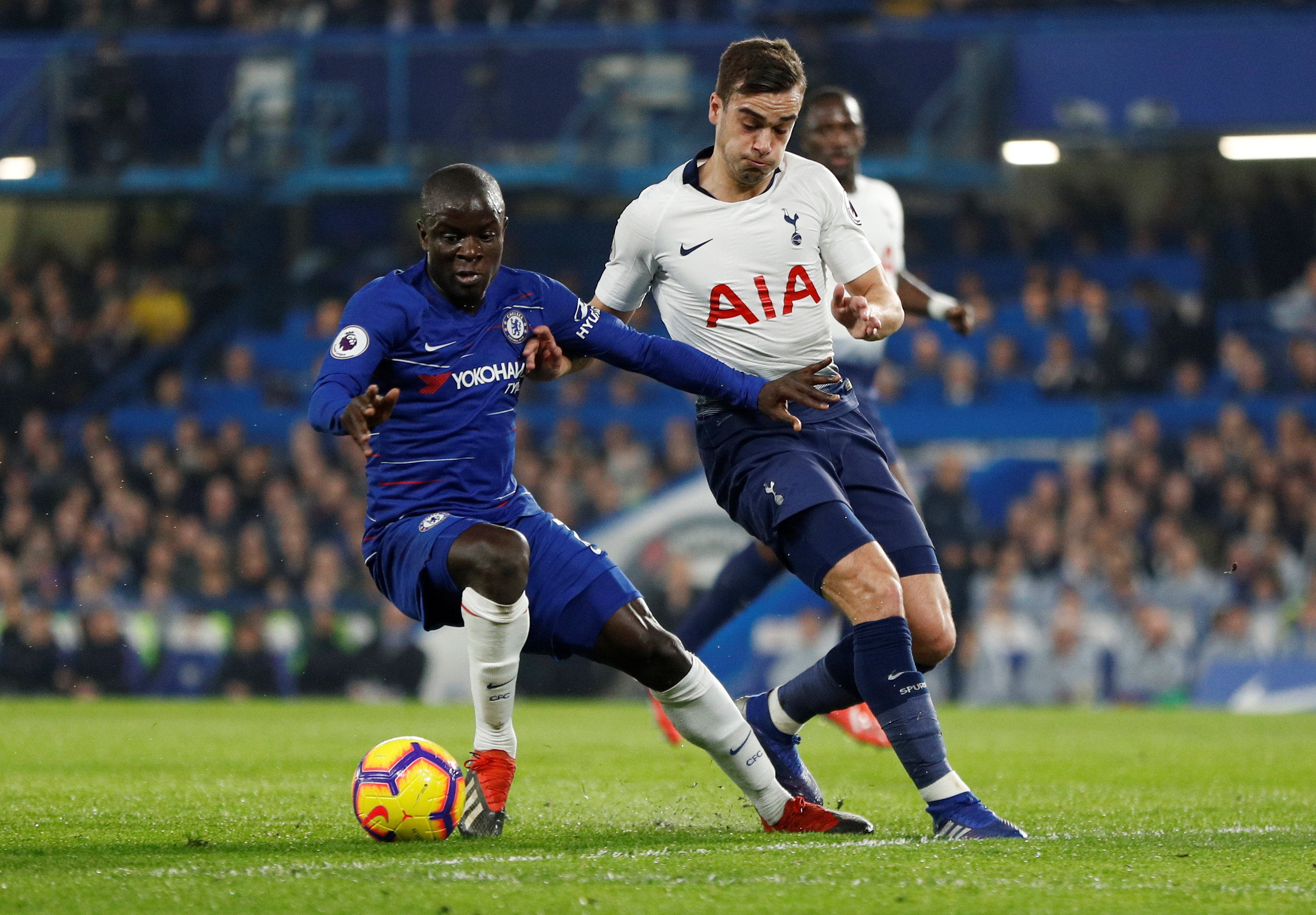 Kante Chelsea tackles 2018-19