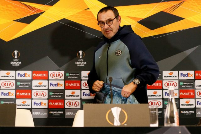 Maurizio Sarri Criticises Dynamo Kiev Pitch Prior to Chelsea's Europa League Clash