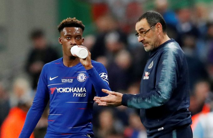 Paul Merson Backs Chelsea Manager's Decision To Bench Callum Hudson-Odoi