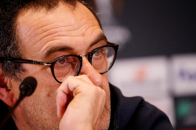 Maurizio Sarri Won't Tweak His Philosophy