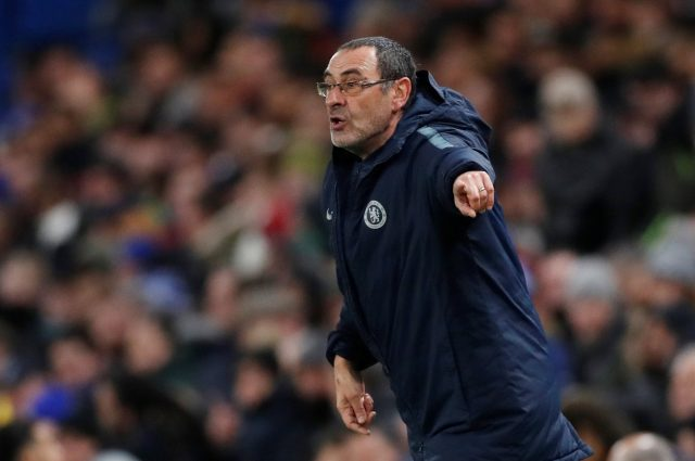 Sarri wanrns Chelsea season could still be a disaster