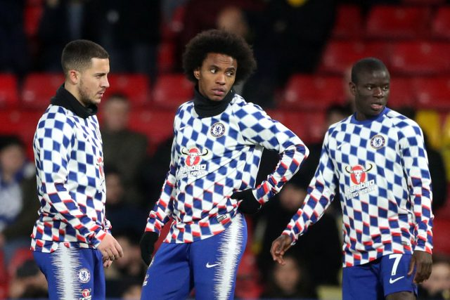 Willian Reveals What Eden Hazard Has Said About His Summer Move To Real Madrid