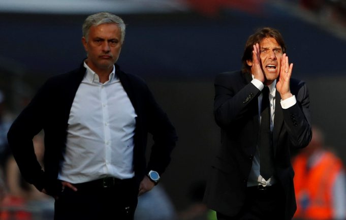 Conte takes another dig at Jose Mourinho