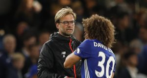 David Luiz Showers Praises On Jurgen Klopp