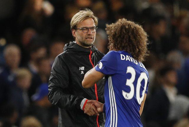 David Luiz Showers Praises On Jurgen Klopp