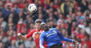 Demba Ba says he has no sympathy for Gerrard's slip