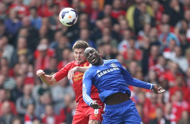 Demba Ba says he has no sympathy for Gerrard's slip